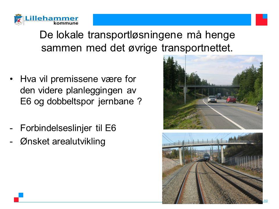 www.lillehammer.kommune.no Gjennomføring av ulike dialog- og kunnskapssamlinger Hva slags mål og utfordringer har Lillehammer.