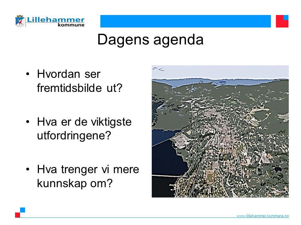 www.lillehammer.kommune.no Dagens agenda Hvordan ser fremtidsbilde ut.