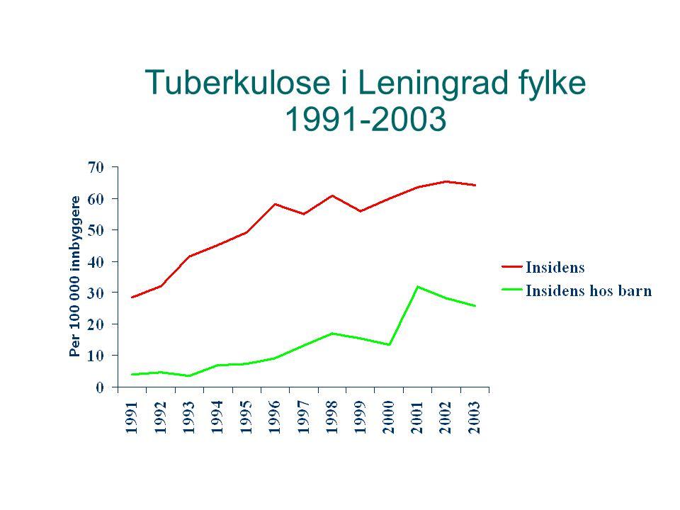 Tuberkulose i Leningrad fylke 1991-2003