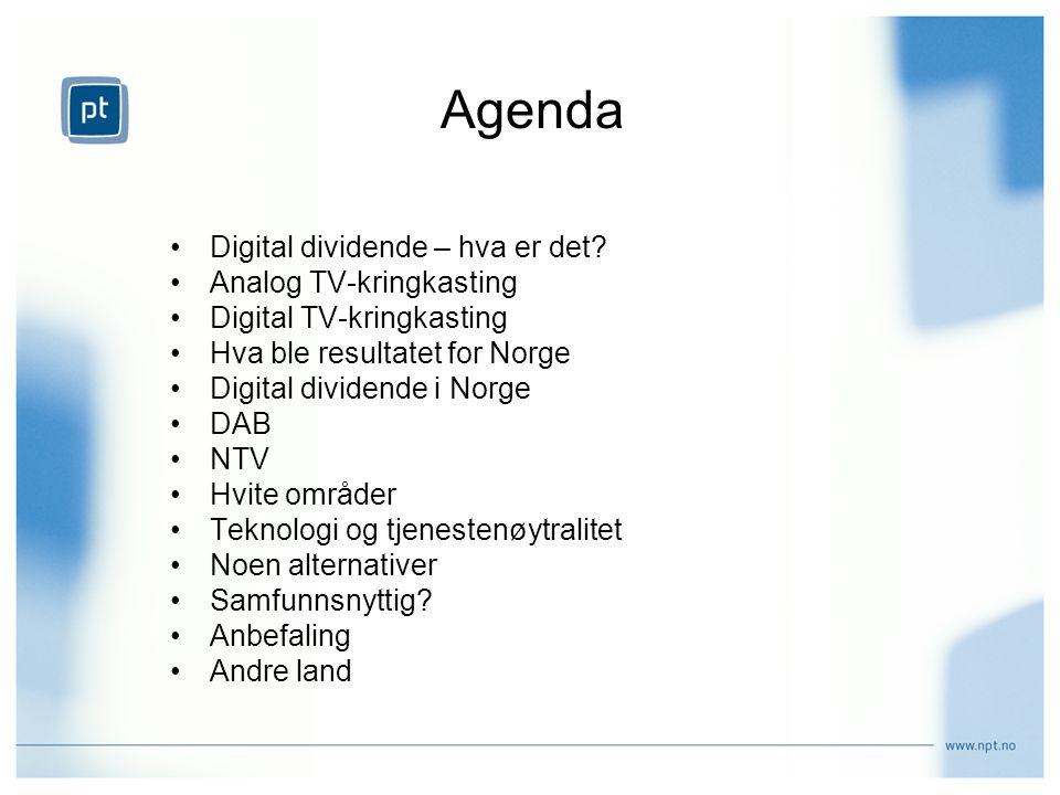 Agenda Digital dividende – hva er det.