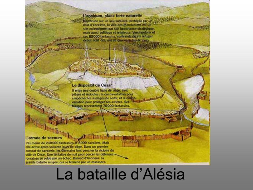 La bataille d'Alésia