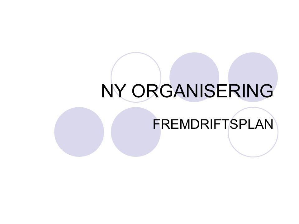 NY ORGANISERING FREMDRIFTSPLAN