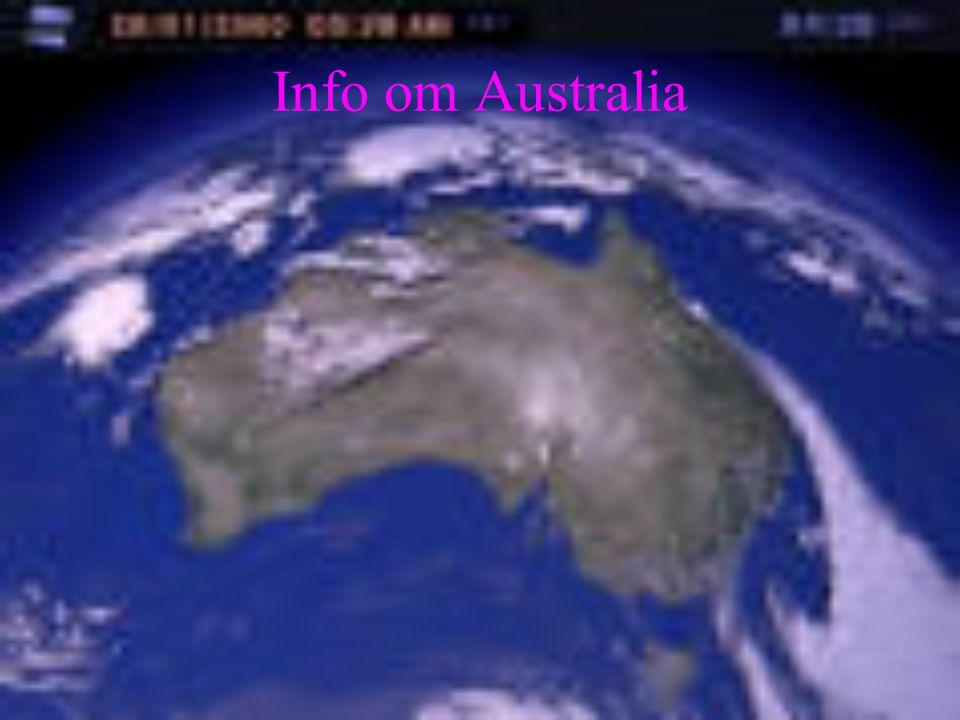 Info om Australia