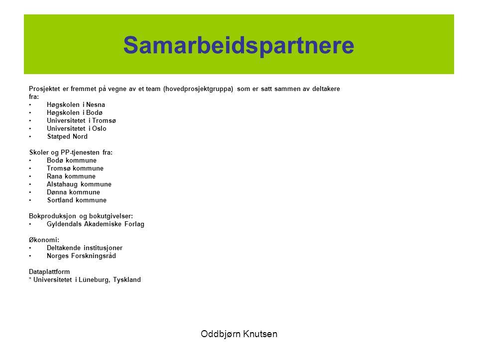 Oddbjørn Knutsen Internasjonalt PVG-prosjektet er tilknyttet det internasjonale prosjektet Vital-Tempus .