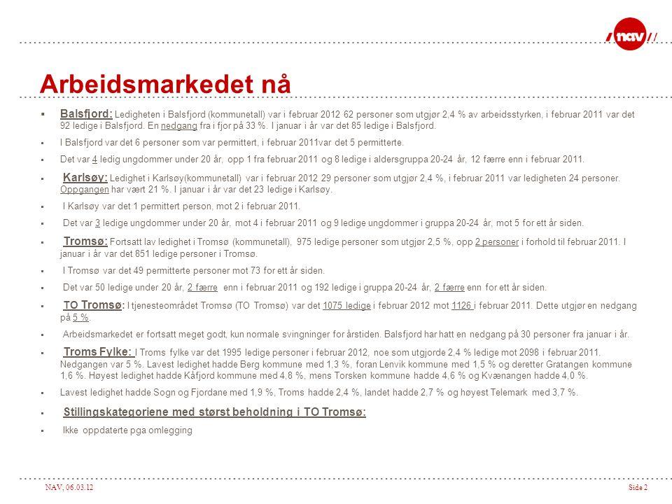 NAV, 06.03.12Side 3 Balsfjord