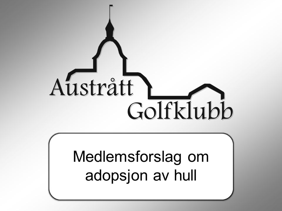 Medlemsforslag om adopsjon av hull