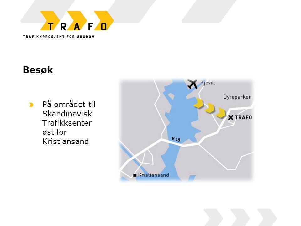 Besøk På området til Skandinavisk Trafikksenter øst for Kristiansand