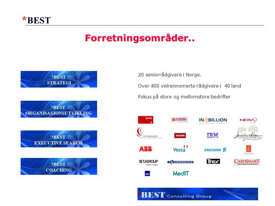 * BEST 2 20 seniorrådgivere i Norge.