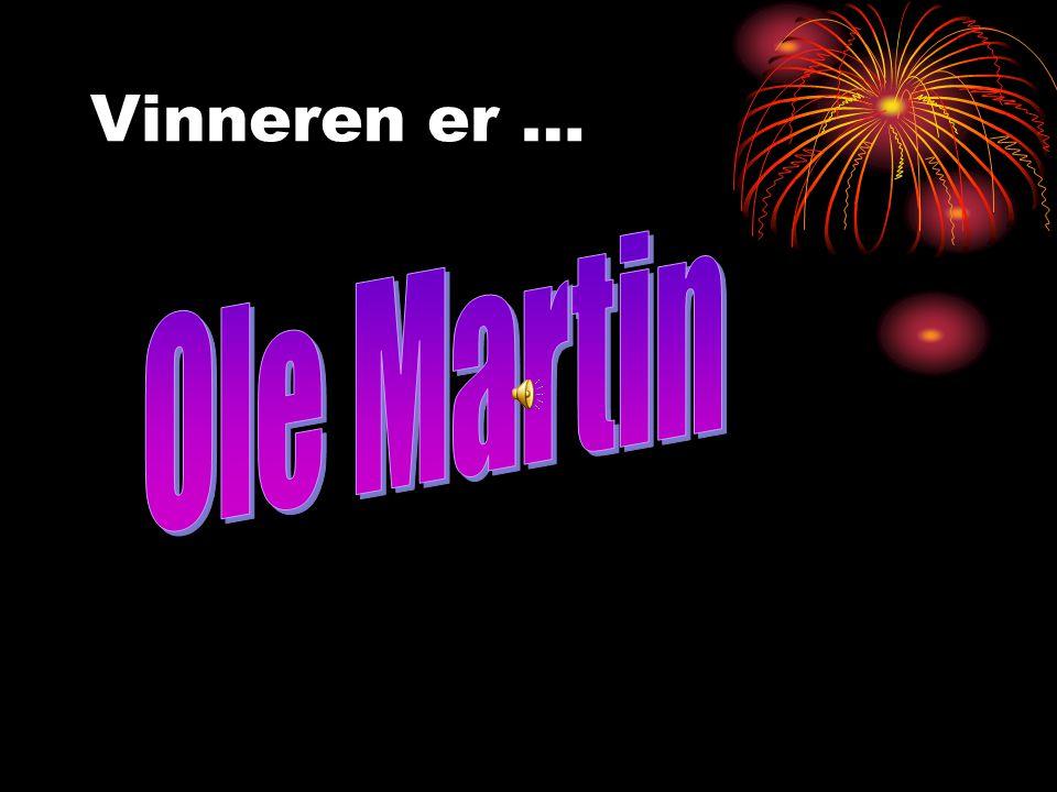 De nominerte er… RUNA OLE MARTIN GABRIEL