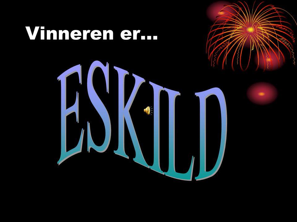 De nominerte er Jonas E.J. Eskild Arya