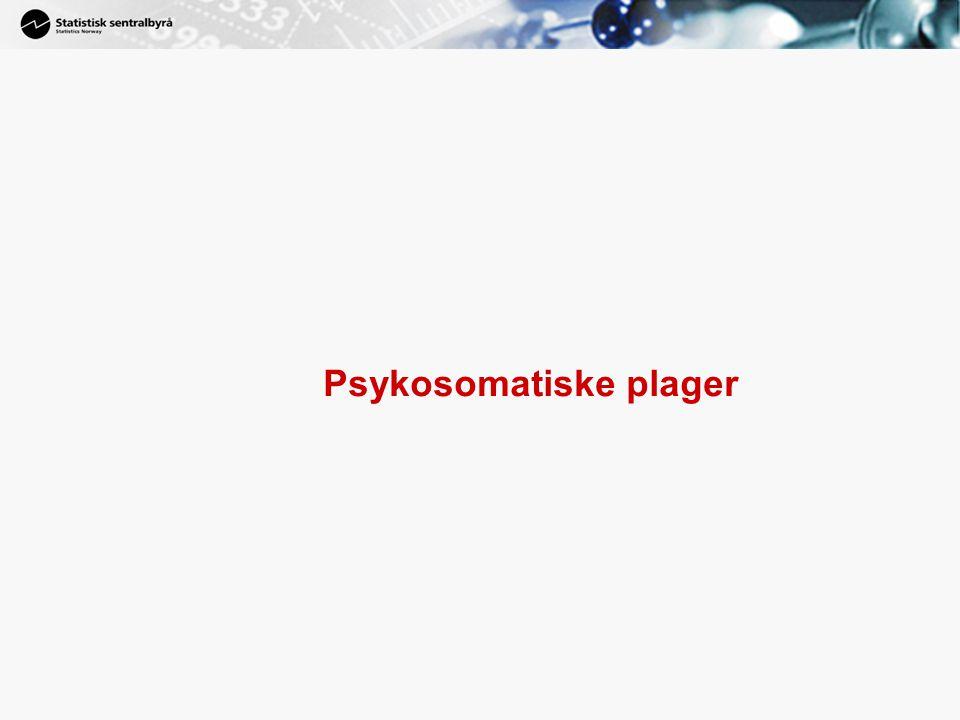 13 Psykosomatiske plager
