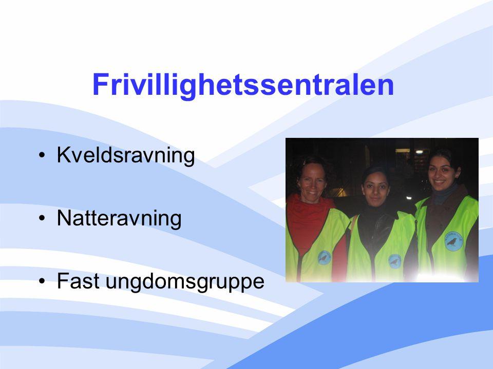 Frivillighetssentralen Kveldsravning Natteravning Fast ungdomsgruppe
