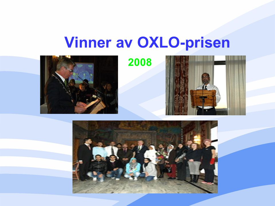 Vinner av OXLO-prisen 2008