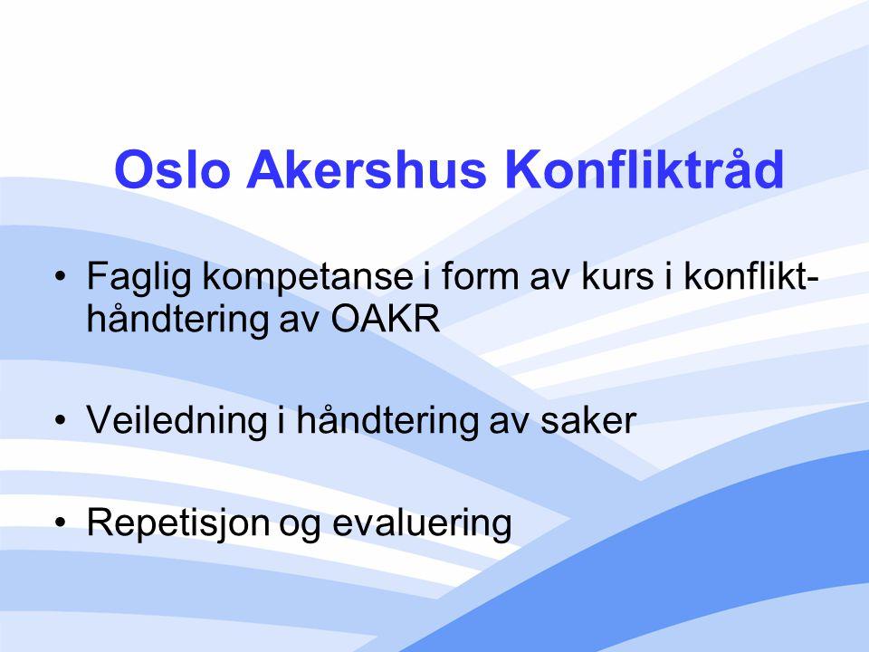 Velferdsetaten MKR var invitert til å holde presentasjon under toleranseuka OXLO med representanter fra flere bydeler tilstede Enighet om videre samarbeid