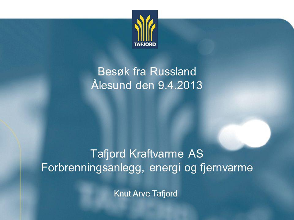 Tafjord Kraftvarme AS Avfallbehandling Energikilder Transportsystem Bruksområde