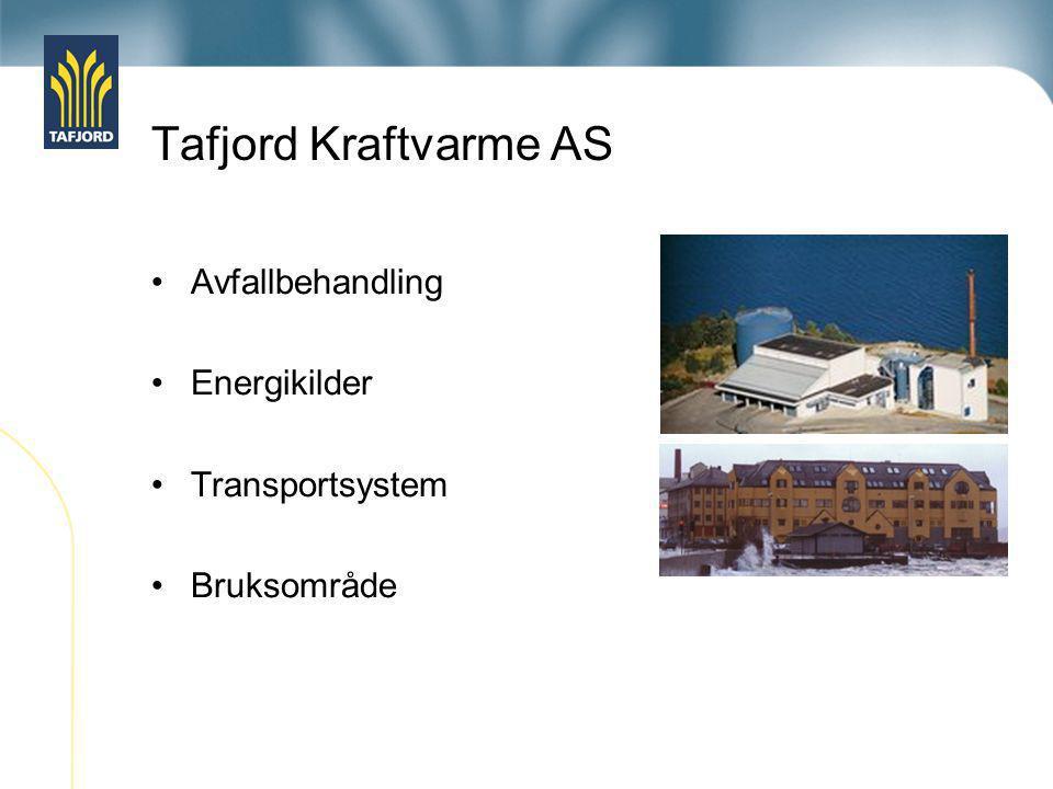 Tafjord Kraftvarme AS          Hovednett fjernvarme