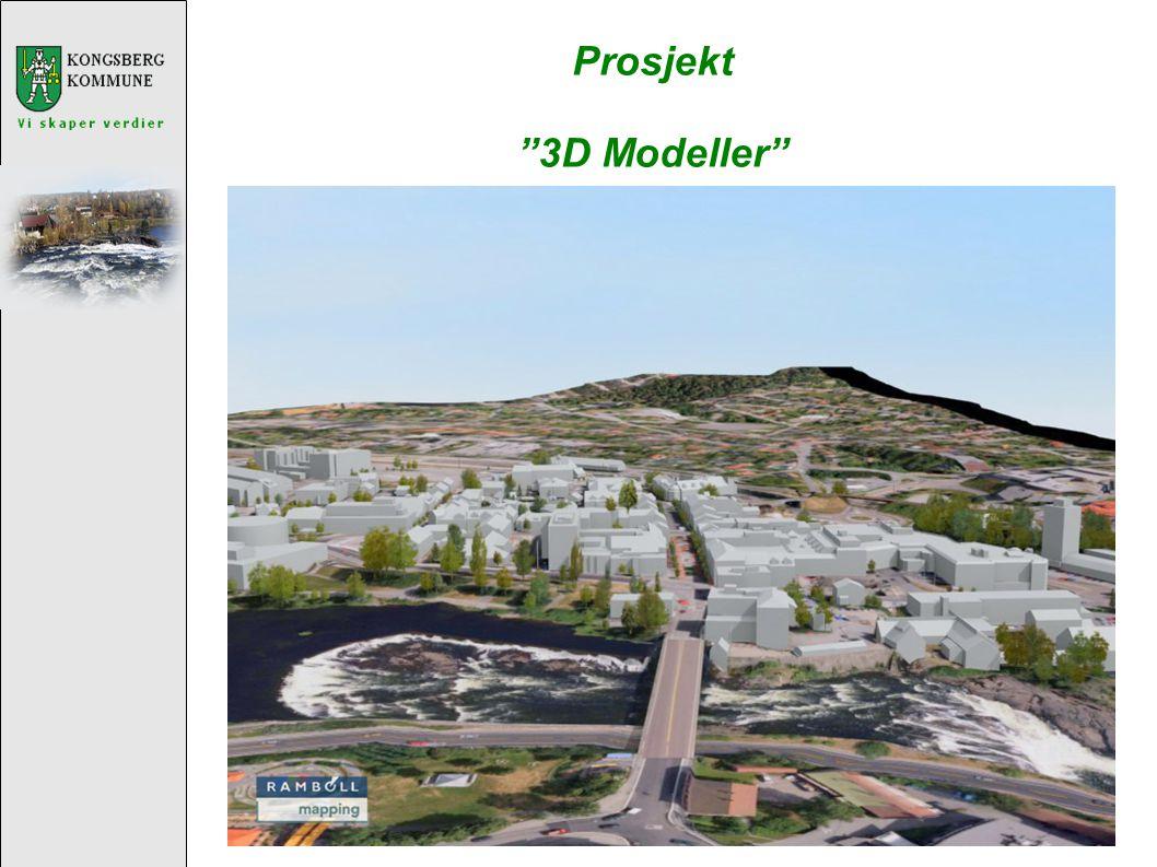 Prosjekt 3D Modeller