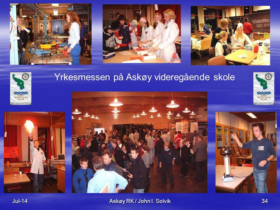 Jul-14Askøy RK / John I. Solvik34 Yrkesmessen på Askøy videregående skole