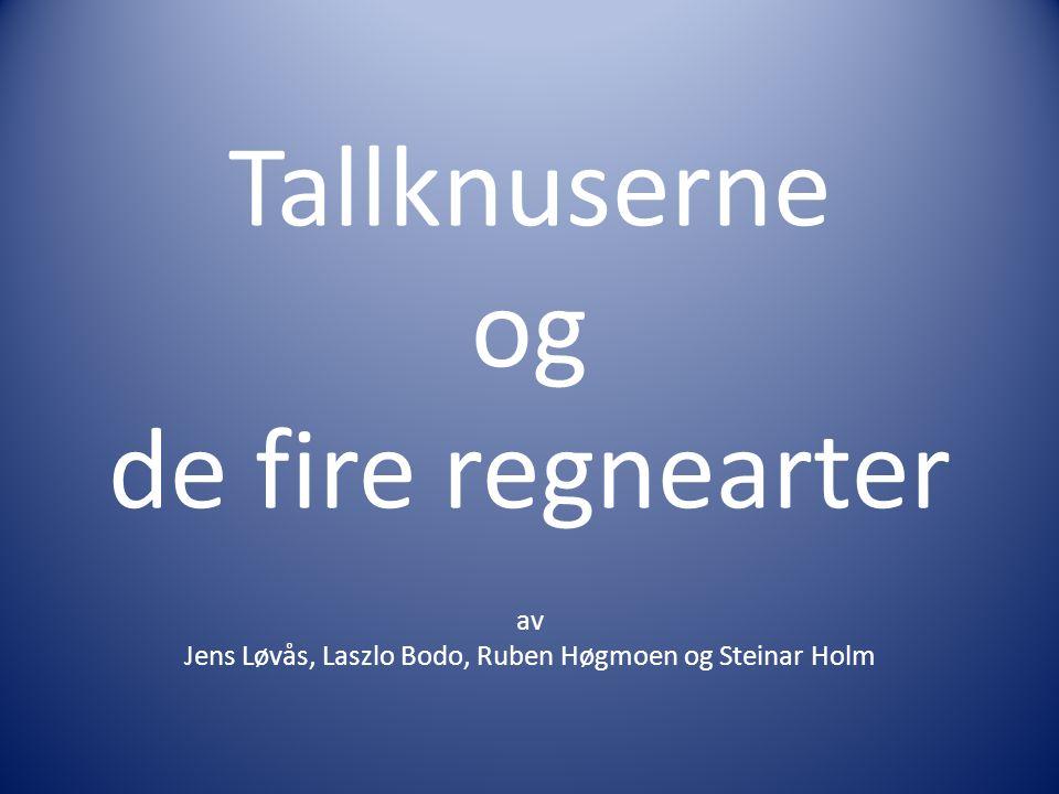 Tallknuserne og de fire regnearter av Jens Løvås, Laszlo Bodo, Ruben Høgmoen og Steinar Holm