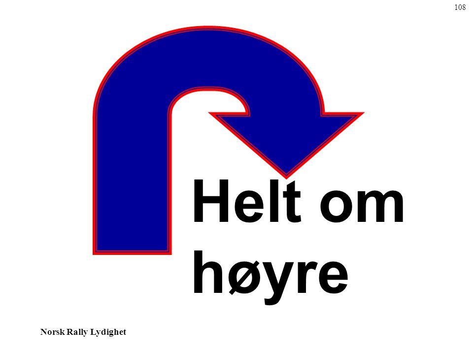 Norsk Rally Lydighet Helt om høyre 108