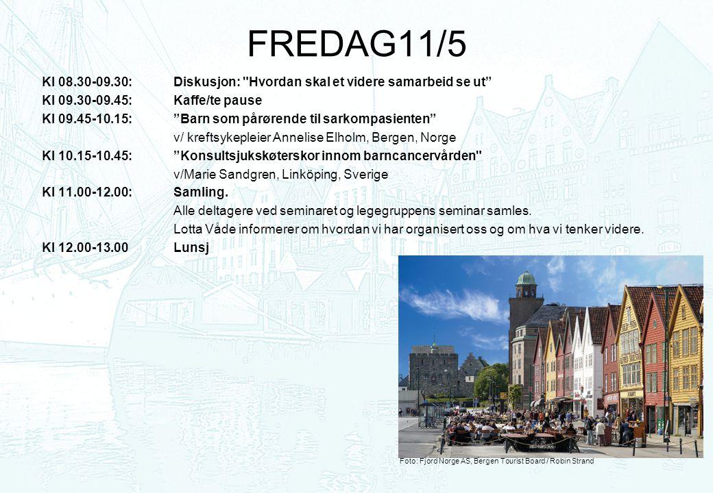 FREDAG11/5 Kl 08.30-09.30: Diskusjon: