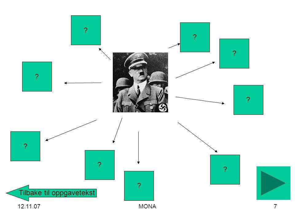 12.11.07MONA8 BERG FENGSEL 1940-45 1940-45 ? ? ? ? Tilbake til oppgavetekst