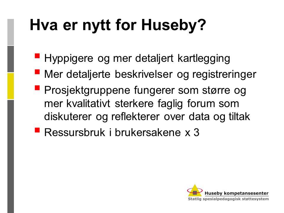 Hva er nytt for Huseby.