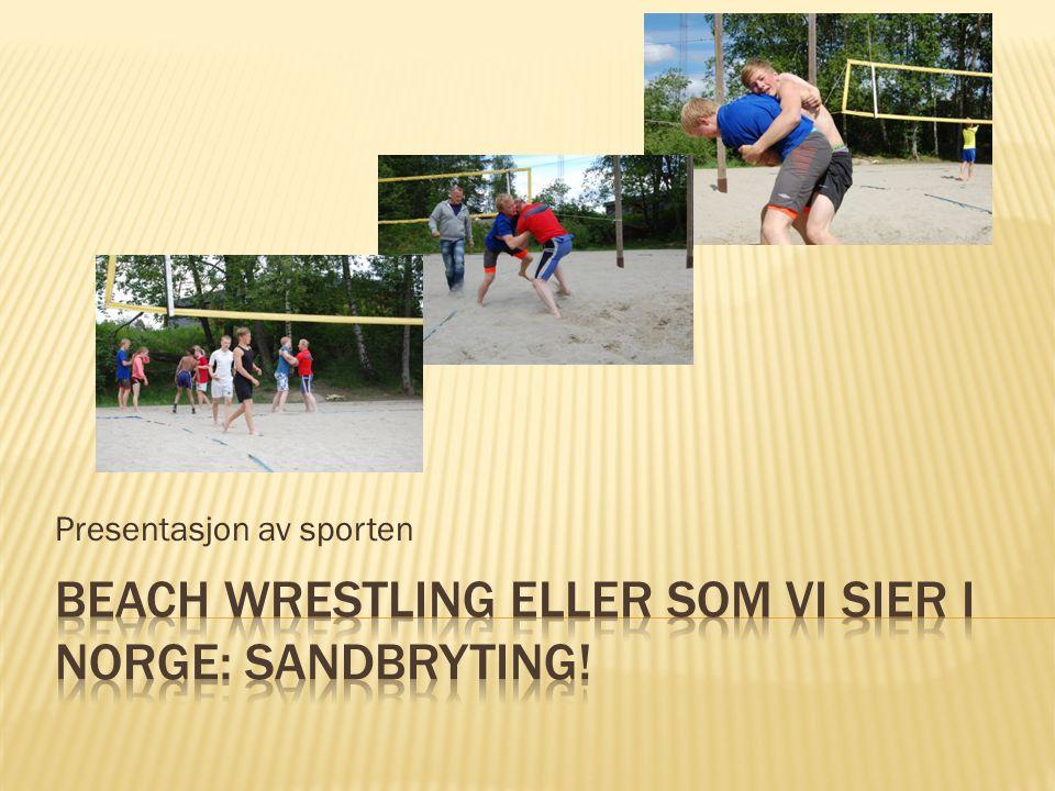 Presentasjon av sporten