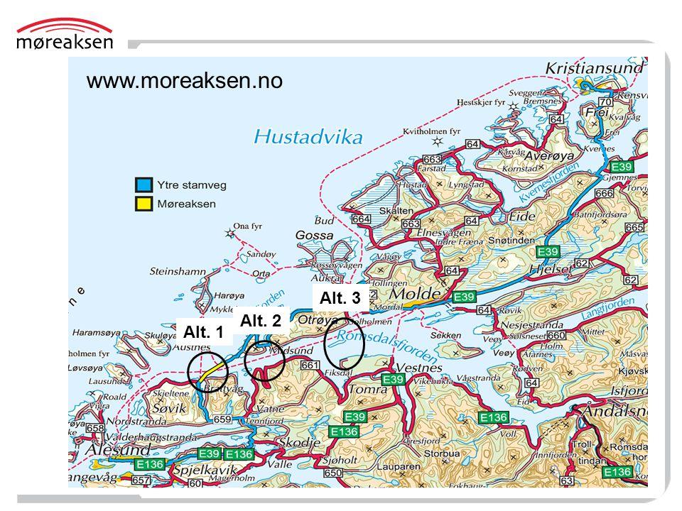 www.moreaksen.no Alt. 1 Alt. 2 Alt. 3