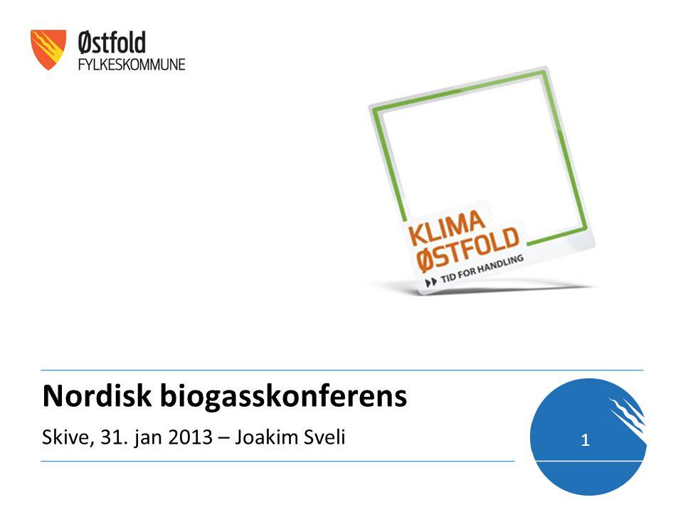 Nordisk biogasskonferens Skive, 31. jan 2013 – Joakim Sveli 1