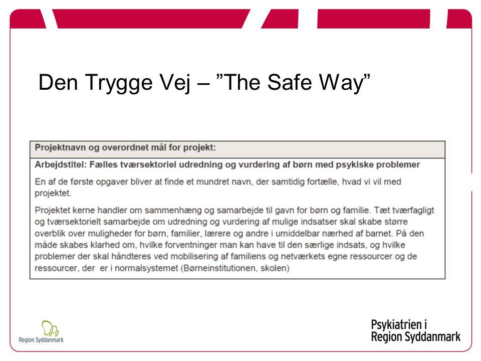 """Den Trygge Vej – """"The Safe Way"""""""
