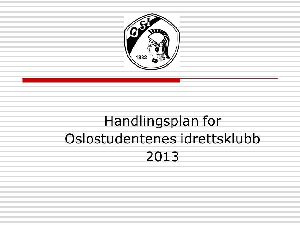 Handlingsplan for Oslostudentenes idrettsklubb 2013