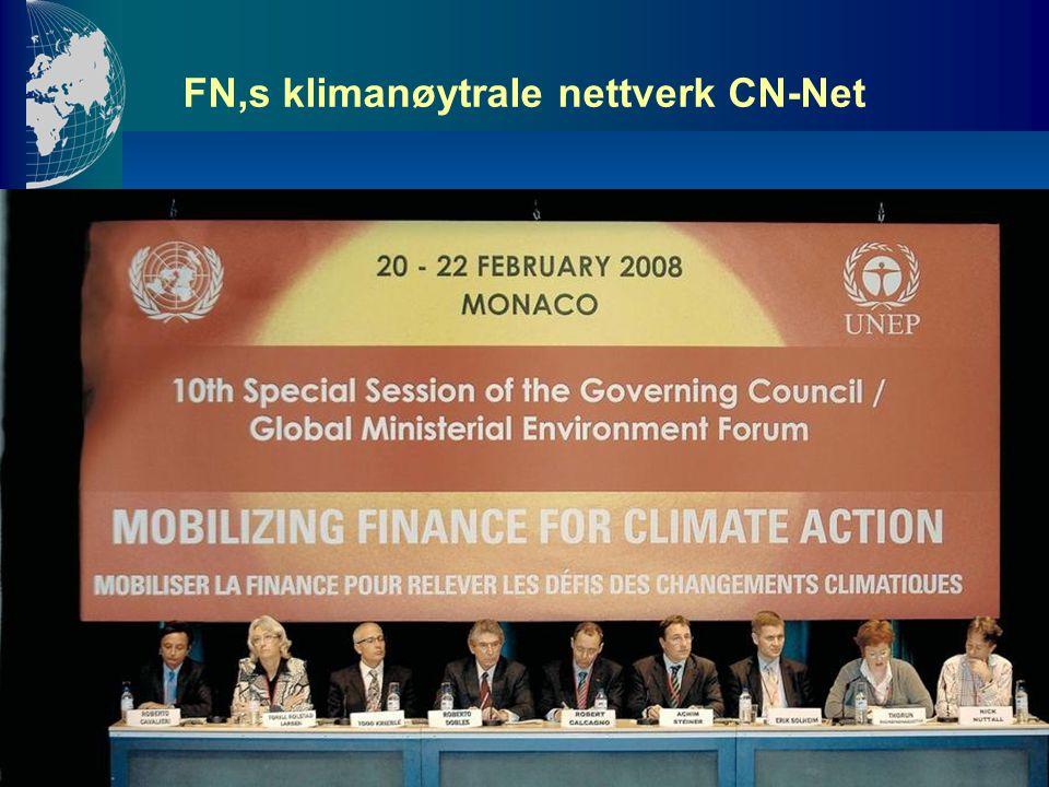 FN,s klimanøytrale nettverk CN-Net
