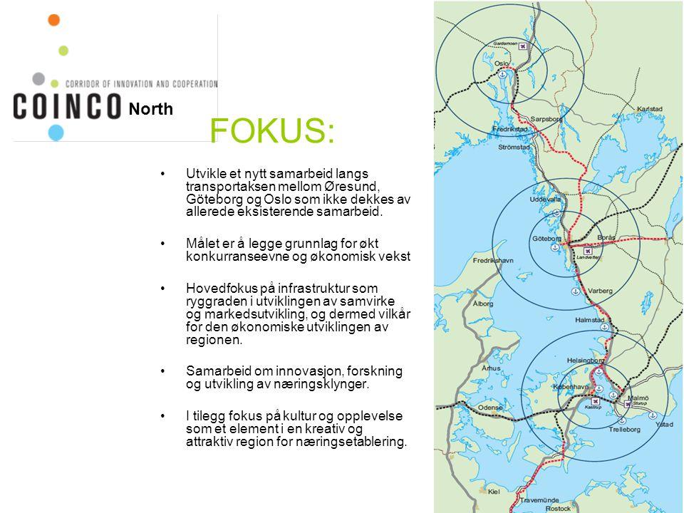 Utvikle et nytt samarbeid langs transportaksen mellom Øresund, Göteborg og Oslo som ikke dekkes av allerede eksisterende samarbeid. Målet er å legge g