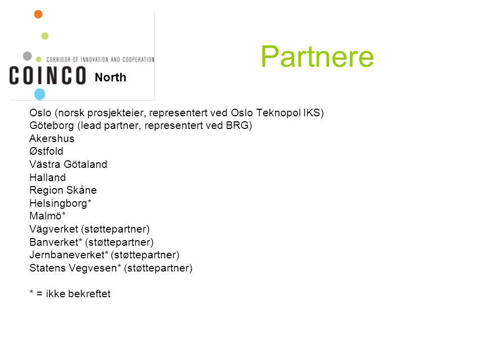 Ulike type partnerskap Tre alternativer: Fullt partnerskap: Deltakelse i alle WP'er.