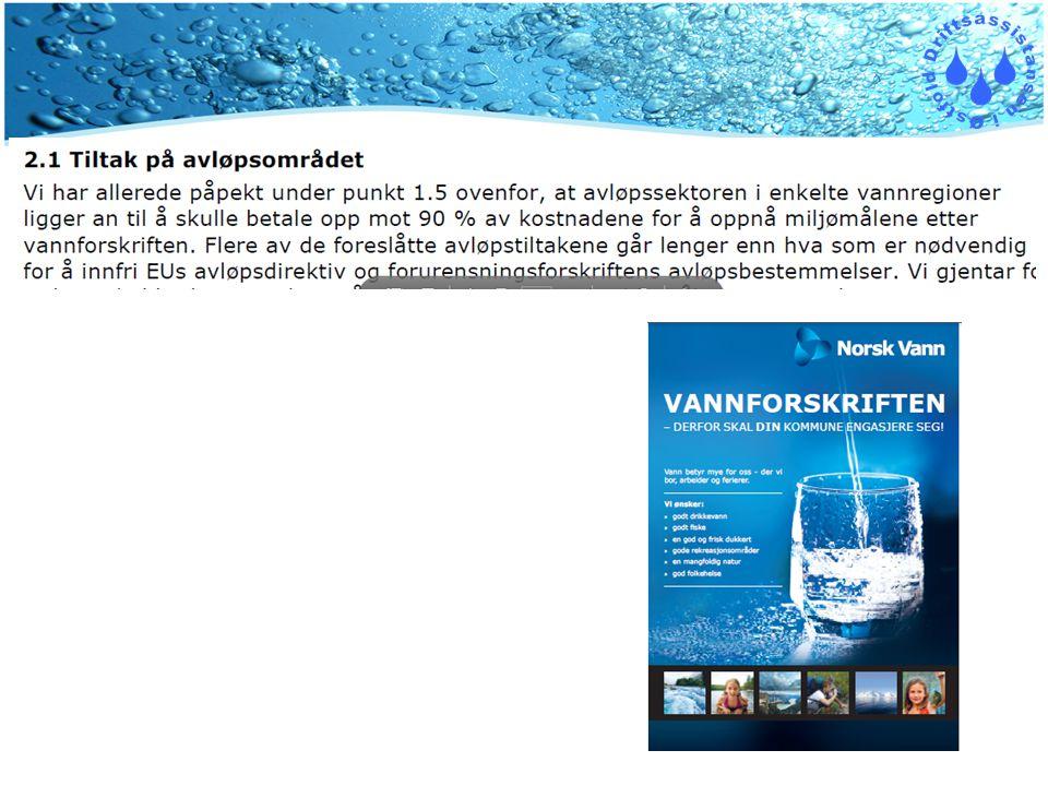 Vanndirektivet – Vannforskriften