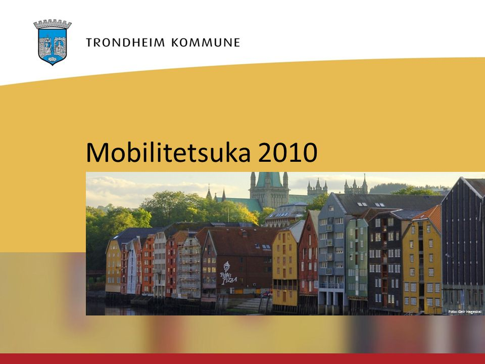 Foto: Geir Hageskal Mobilitetsuka 2010