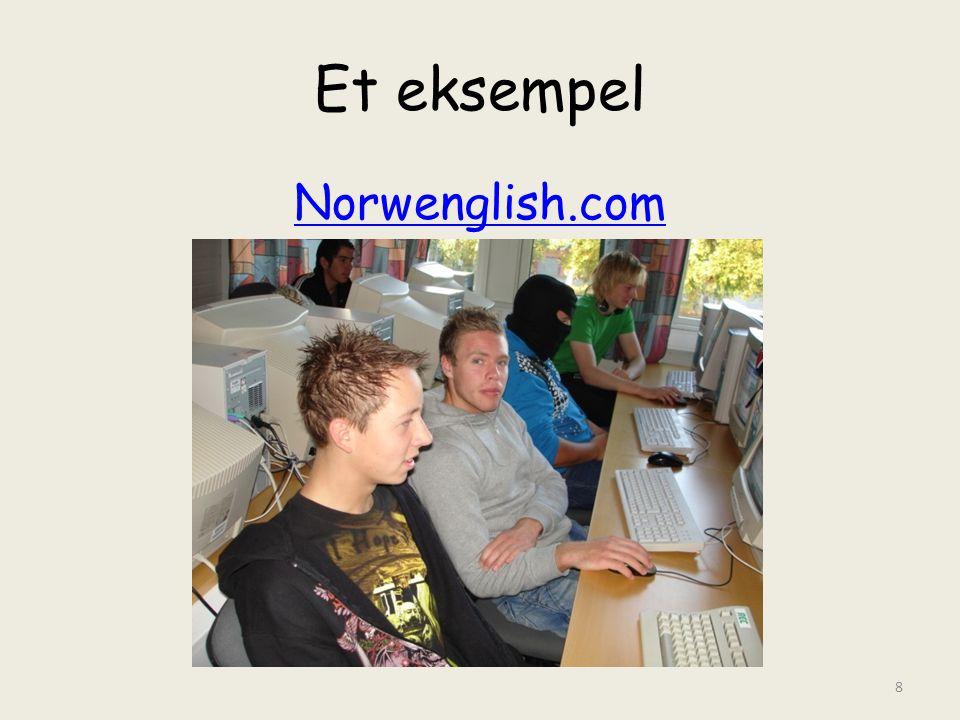 Et eksempel Norwenglish.com 8