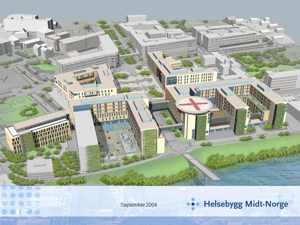 sikker ivaretakelse av drift av eksisterende sykehus med infrastruktur sikkerhet fremdrift og byggetid reduserte kostnader (ref.