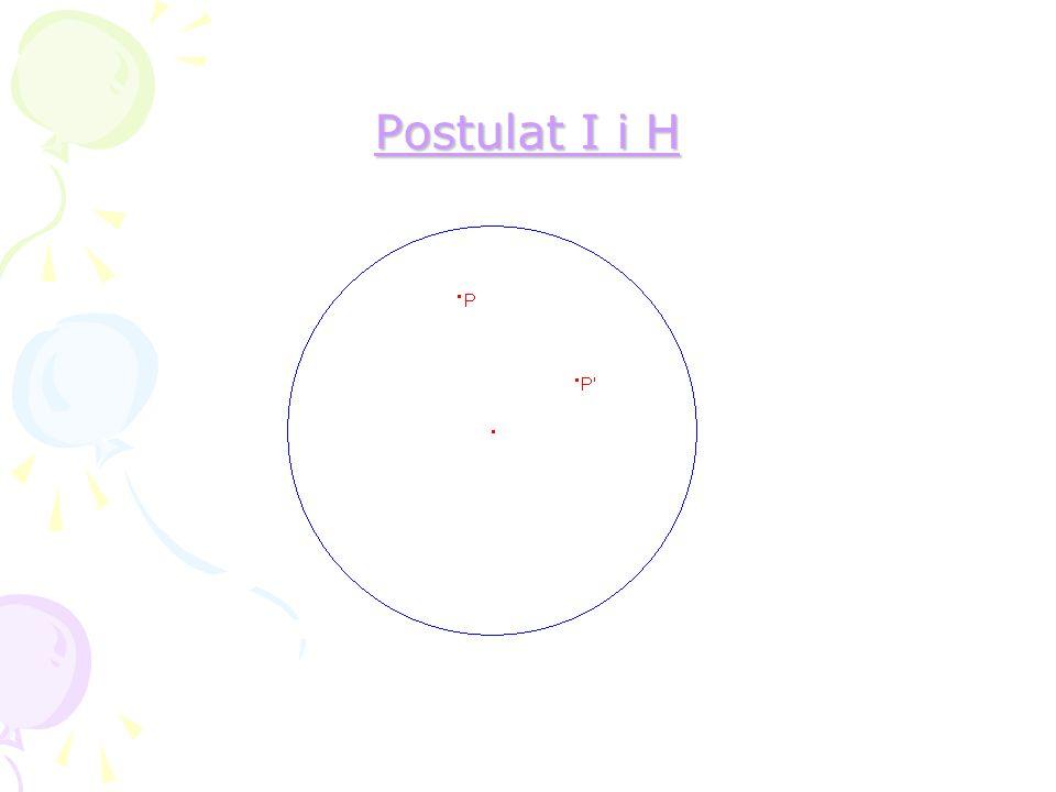 En trekant i H