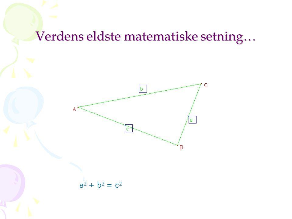 Euklids postulater I.Mellom to punkter kan trekkes en rett linje.
