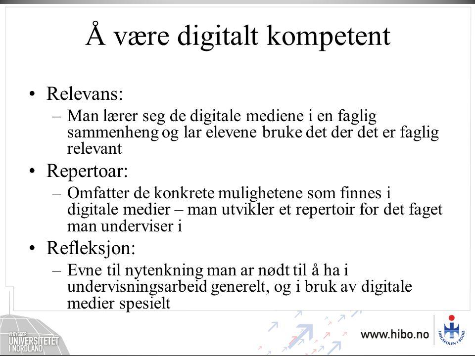 Å være faglig fundert Det å kunne lese og skrive er ikke det samme i naturfag som i norsk.