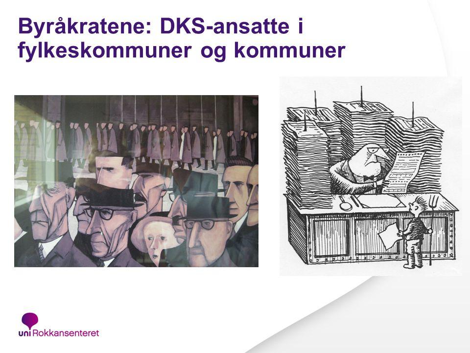 Iverksetting og institusjonalisering av Den kulturelle skolesekken: Hva med DKS-byråkratiet .