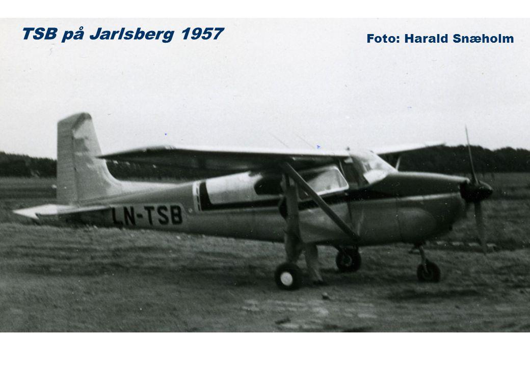TSB på Jarlsberg 1957 Foto: Harald Snæholm
