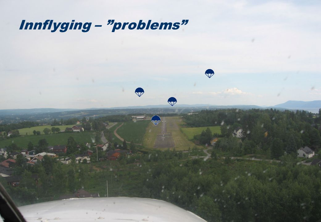 Innflyging – problems