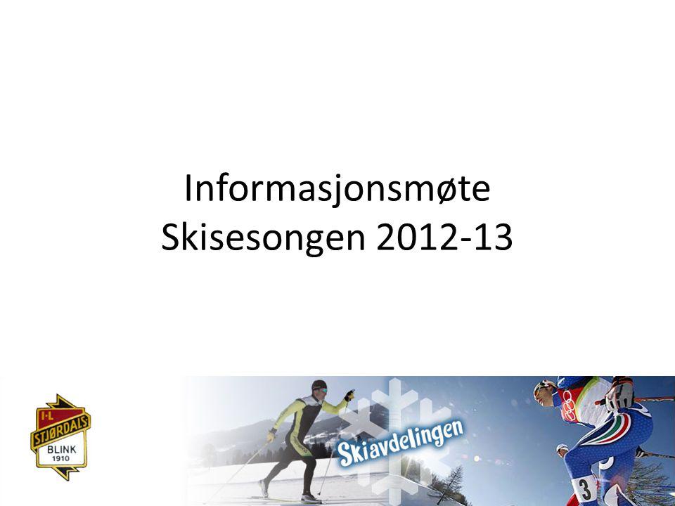 Informasjonsmøte Skisesongen 2012-13
