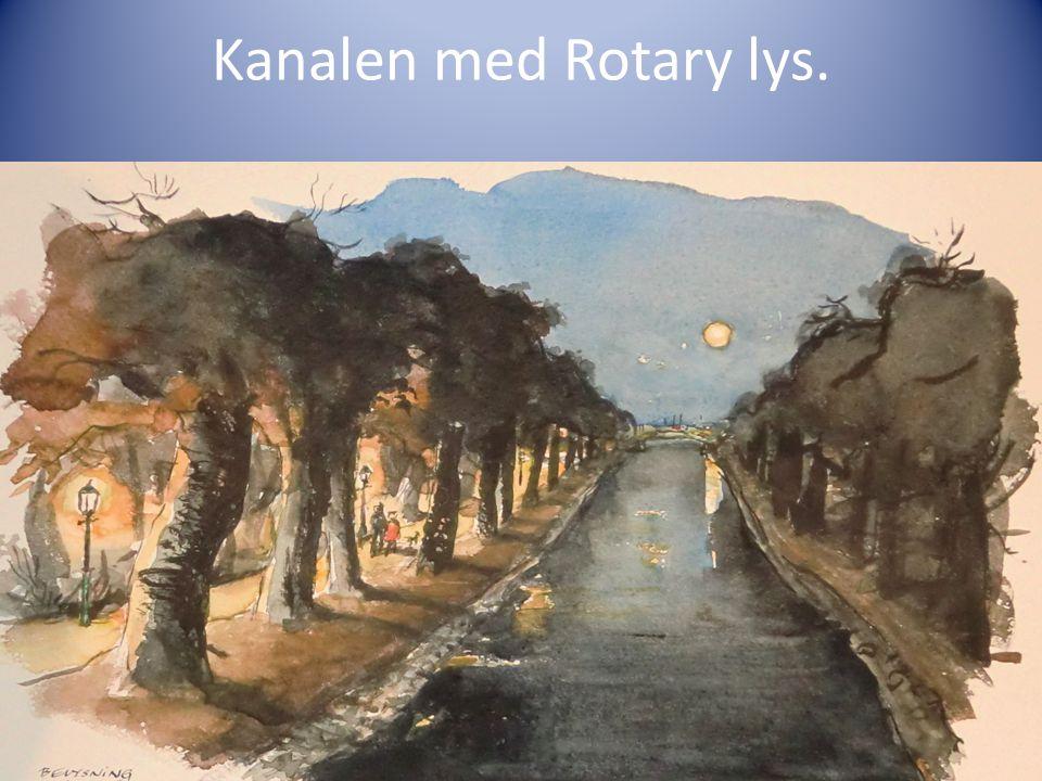 Kanalen med Rotary lys.