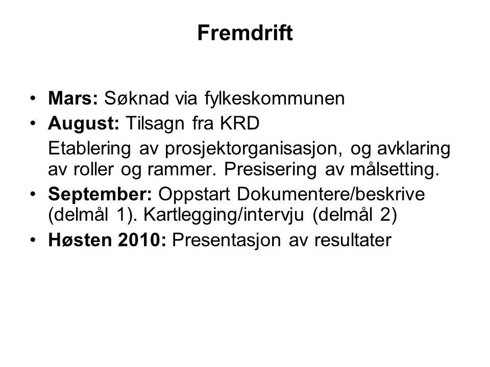 Arbeidstaker A Møtet med rekrutteringsteamet var også første møte med Senja Næringshage.