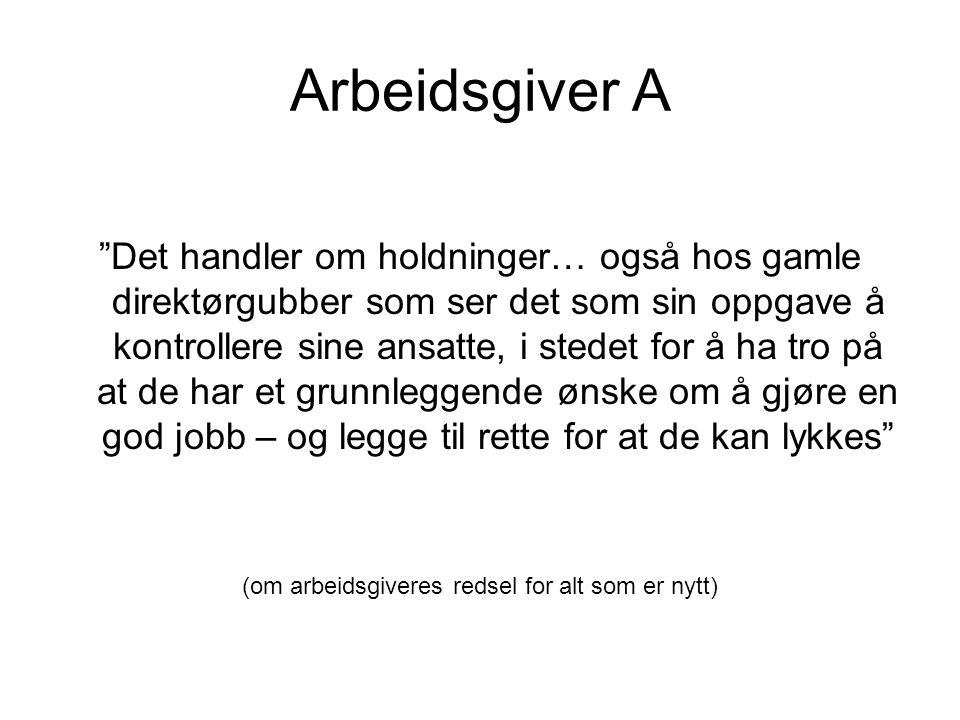 Arbeidstaker B Dyrøy har skjønt det.Man må få akademikerne ut på bygda.
