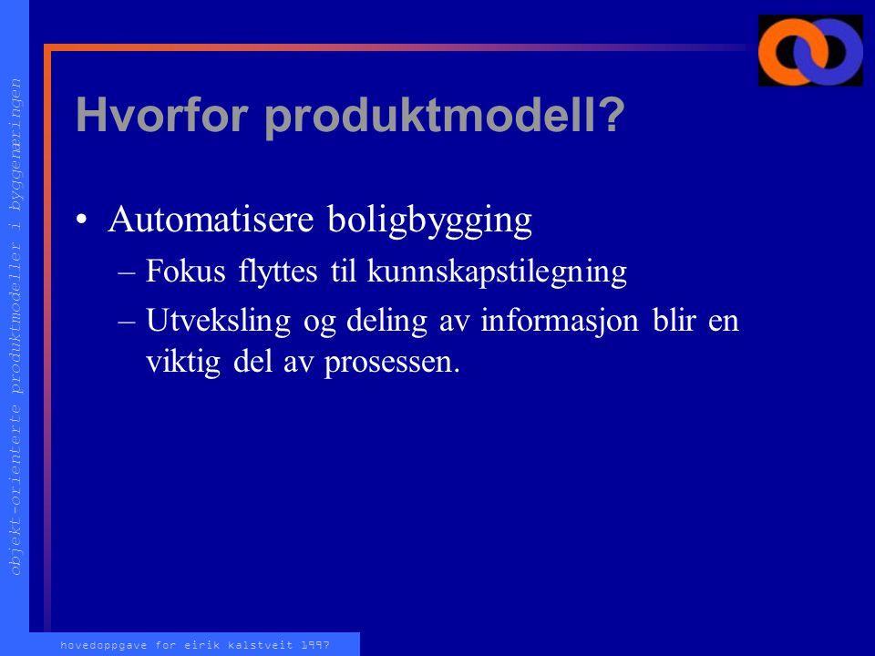 objekt-orienterte produktmodeller i byggenæringen hovedoppgave for eirik kalstveit 1997 Ventil PCV0321 Utstyrs data-ark 3D DAK Eksempel: Ventil PCV032
